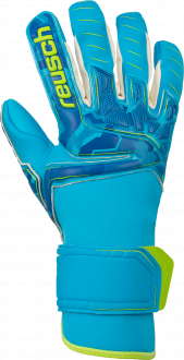 Reusch Attrakt Pro AX2 Evolution NC 5070459 4989 green blue front